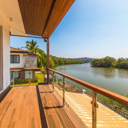 River view luxury villa