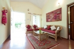Holiday villa for rent in Cavelossim — Villa Lion Suite with swimming pool | 2119  Lion Suite (#2119)  South Goa, Cavelossim - Kitchen, living room