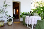 Holiday rooms for rent in Anjuna — Guesthouse Vera Rosa | 2017  Vera Rosa (#2017)  North Goa, Anjuna - Terrace