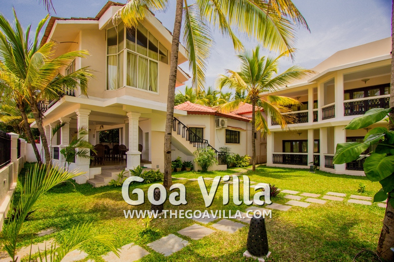 Rooms for rent in candolim guesthouse the modern guest - Guest house in goa with swimming pool ...
