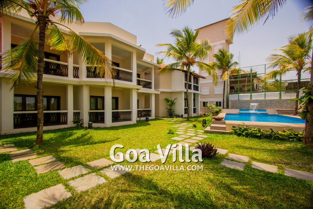 Rooms for rent in candolim trusted by 1000 clients - Guest house in goa with swimming pool ...