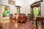For rent La Roca Village with swimming pool in Siolim North Goa  La Roca Village (#2293)  Goa, North, Siolim - Kitchen, living room