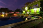 Holiday rooms for rent in Morjim — Guesthouse Boutique House with swimming pool | 2316  Boutique House (#2316)  North Goa, Morjim - Night view
