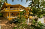 Guesthouse Yellow Point in Mandrem beach North Goa  Yellow Point (#2320)  Goa, North, Mandrem - Outside view