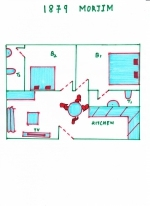 Holiday in Vanessa Apartment in Morjim North Goa  Vanessa Apartment (#1879)  Goa, North, Morjim - Site plan