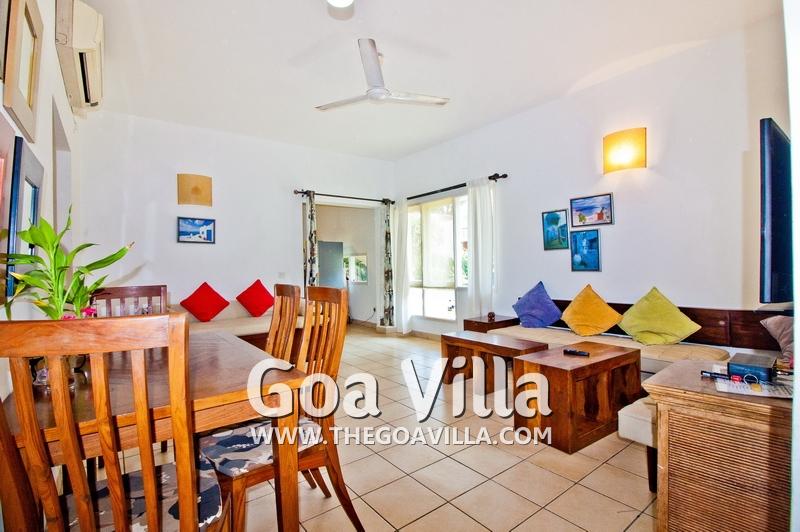 Villa For Rent In Candolim Villa Chloe Apartment 2bhk