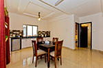 Kitchen, living, dining room - 10