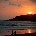 palolem india goa beach sunset trip