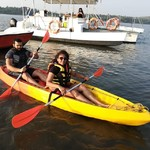 @instagram: How do you want your weekend to be ?? Come set sail with us #goa #watersports #aquaadventure #morjim #kayaking #lostparadisegoa