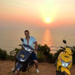 @instagram: #калугинтрэвел #анджуна #гоа #закат #индия #anjuna #goa #sunset #india