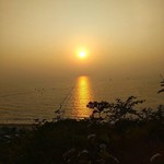 @instagram: #sunset #goa #vagatorbeach #vagator #instagram