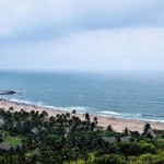 @instagram: #Goa #India #chaporafort #incredibleindia #beach #bagabeach #vagator #bluewater