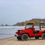 arambol india goa beach