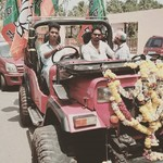 @instagram: BJP#RALLY #MANDREM ????????????