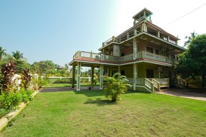 Morjim Green Villa — Villa for rent in Morjim