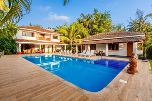 Hamizah villas — Luxury villa for rent in Candolim