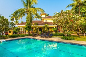 Surya Villa — Luxury villa for rent in Candolim