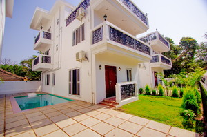 Ricardo Villa — Holiday villa for rent in Anjuna