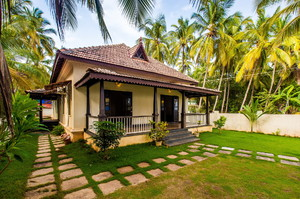 Morjim Beach Villa — Luxury villa for rent in Morjim