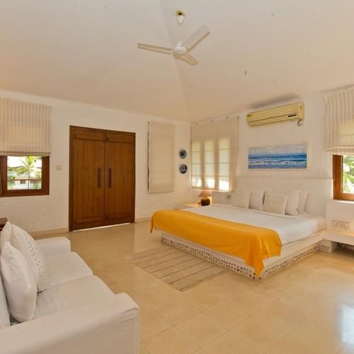 Luxury bedroom in private villa