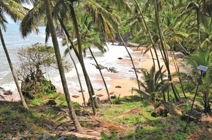 Kakolem Beach: tigers' beach in the south of Goa