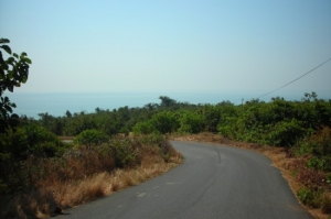 Agonda Beach location