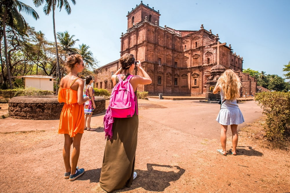 Basilica of Bom Jesus: Outside View
