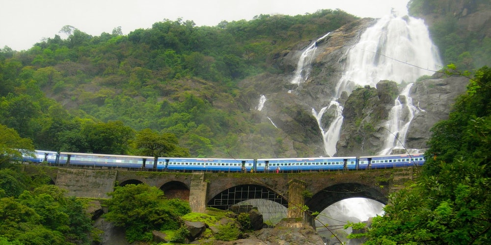 Dudhsagar Water Falls in Goa