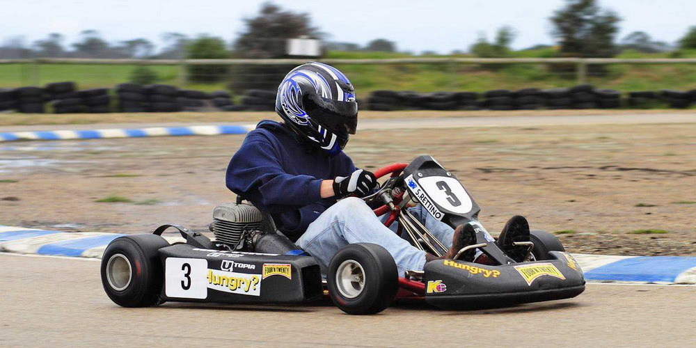 Go Kart Racing in Nuvem Goa