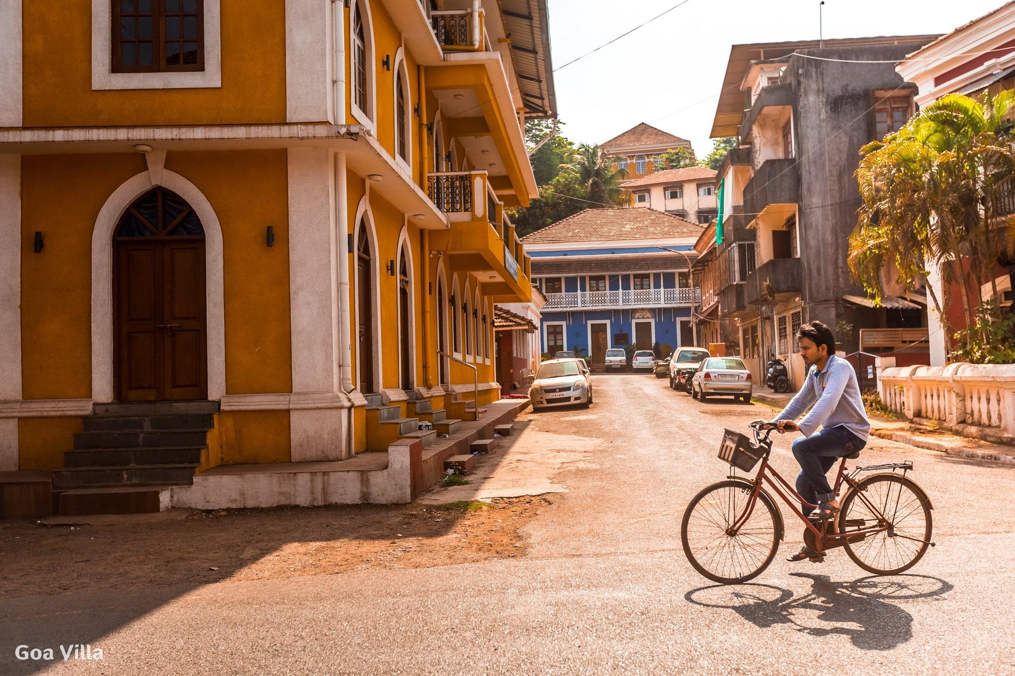 Panaji – the capital of Goa, also known as Panjim