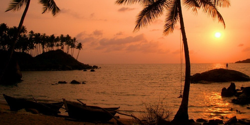 Palolem Beach in South Goa