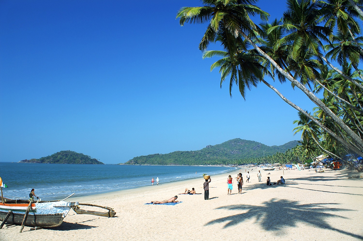 Agonda Beach in South Goa